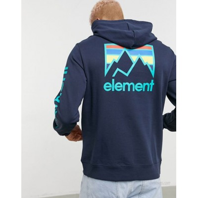 Element Joint hoodie in navy