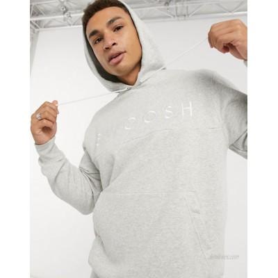 Nike Swoosh hoodie in grey