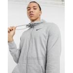 Nike Training Tall Dry zip thru hoodie in grey