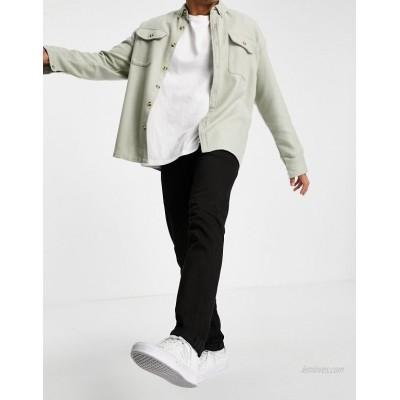 Edwin ED85 skinny fit jeans in black denim