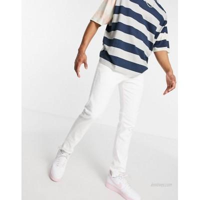 Jack & Jones Intelligence Glenn slim fit jeans in white