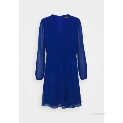 Lauren Ralph Lauren Petite ROSSLYN LONG SLEEVE DAY DRESS Cocktail dress / Party dress sapphire star/blue