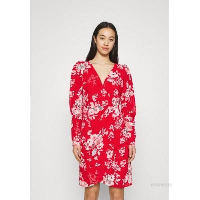 Vila VITAGETES DRESS Cocktail dress / Party dress mars red/red