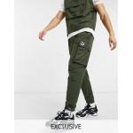 Puma Avenir cargo pants in khaki