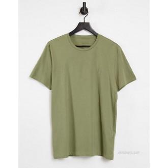 AllSaints tonic t-shirt in dark green