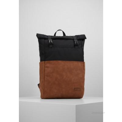 Pier One UNISEX - Rucksack - brown/black/brown
