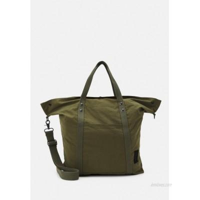 CLOSED UNISEX - Tote bag - pale khaki/olive