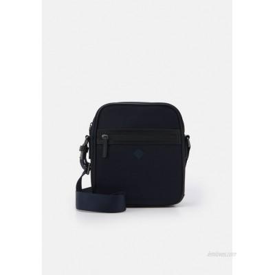 Hackett London GATES DAY BAG - Across body bag - navy/black/dark blue