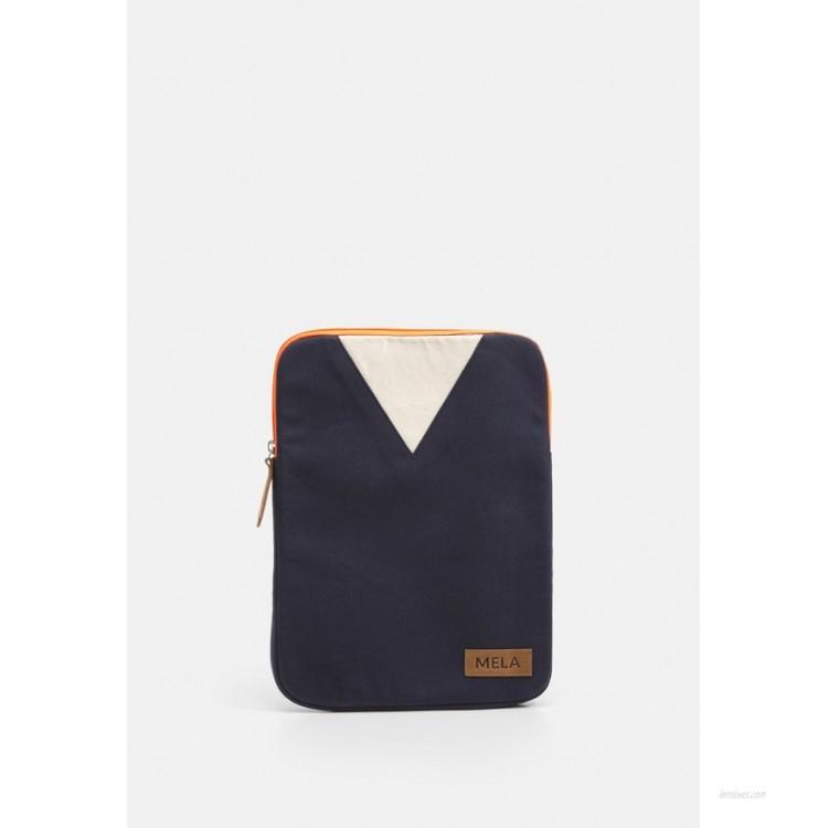 Melawear Laptop bag - blue/orange/dark blue