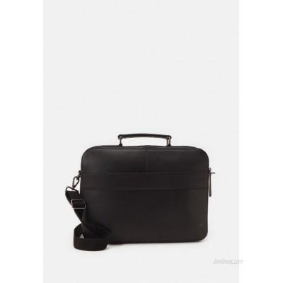 Zign LEATHER - Laptop bag - black