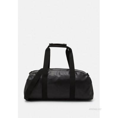 Rains DAILY DUFFEL SMALL UNISEX - Sports bag - shiny black/black