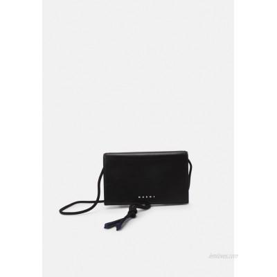 Marni MUSEO SOFT MINI UNISEX - Across body bag - black/navy blue/black