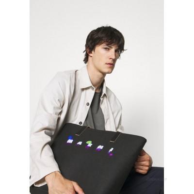 Marni TRIBECA SHOPPING BAG UNISEX - Tote bag - black