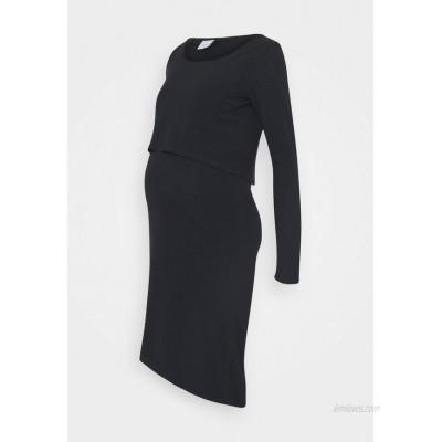 MAMALICIOUS NURSING DRESS Shift dress salute/dark blue