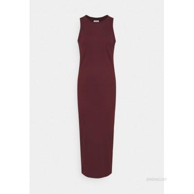 Vero Moda Tall VMLAVENDER CALF DRESS  Jersey dress port royale/dark red