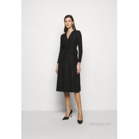 Lauren Ralph Lauren DERBY METALLIC DRESS Jumper dress black