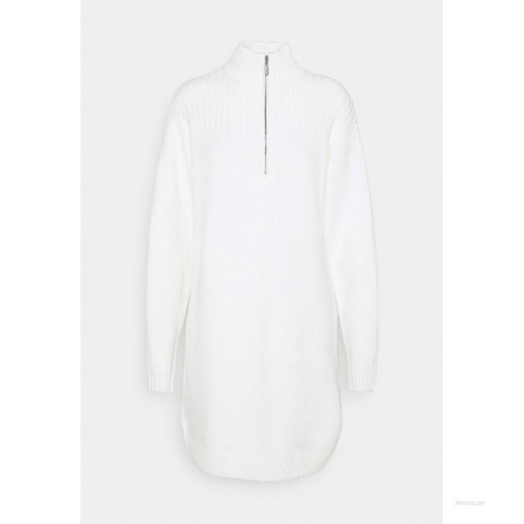NAKD JASMIN AZIZAM ZIP DETAIL DRESS Jumper dress off white/offwhite