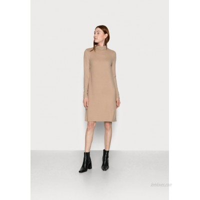 PIECES Tall PCPAM HIGH NECK DRESS Jumper dress warm taupe/nude