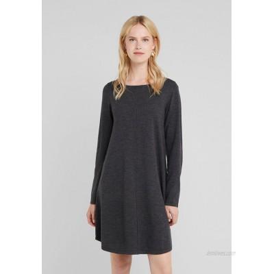 Repeat Jumper dress dark grey/mottled dark grey