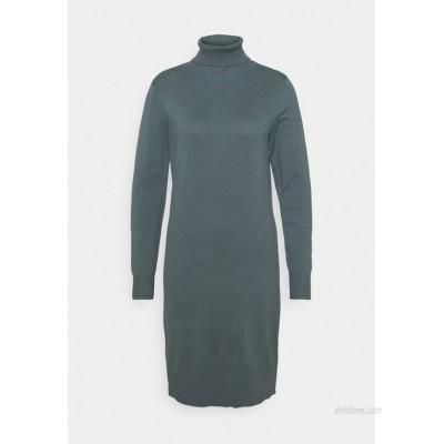 Saint Tropez MILASZ ROLLNECK DRESS Jumper dress dark slate/dark grey