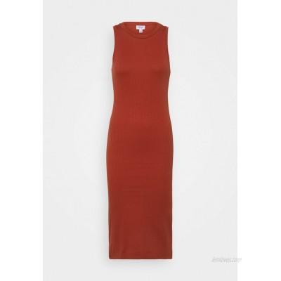 Vero Moda Petite VMLAVENDER CALF DRESS Jumper dress chili oil/red