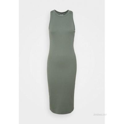 Vero Moda Petite VMLAVENDER CALF DRESS Jumper dress laurel wreath/green