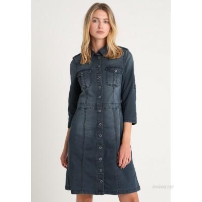 Cream UNIFORM DRESS Denim dress royal navy blue/dark blue