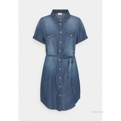 JDY JDYBELLA LIFE DRESS Denim dress medium blue denim/blue denim