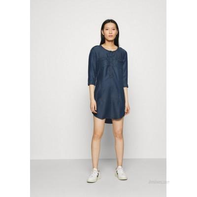 LTB ELORA Denim dress brave wash/blue denim