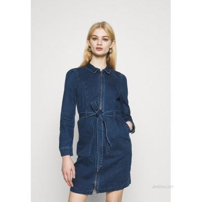 ONLY ONLNEW CHIGO DRESS Denim dress medium blue denim/blue denim