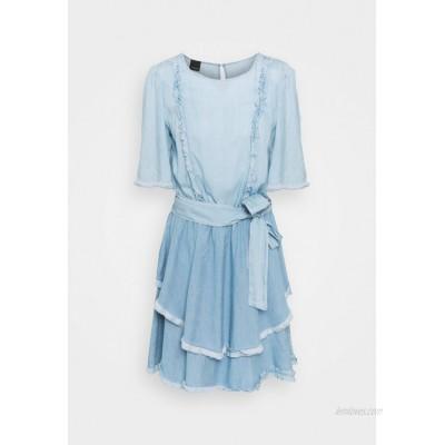 Pinko ANNABEL ABITO Denim dress blue denim
