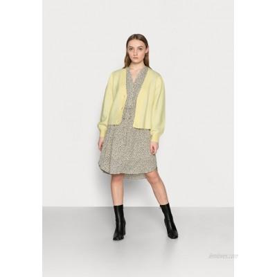 Selected Femme Petite SLFLIPA  Cardigan pastel yellow/yellow